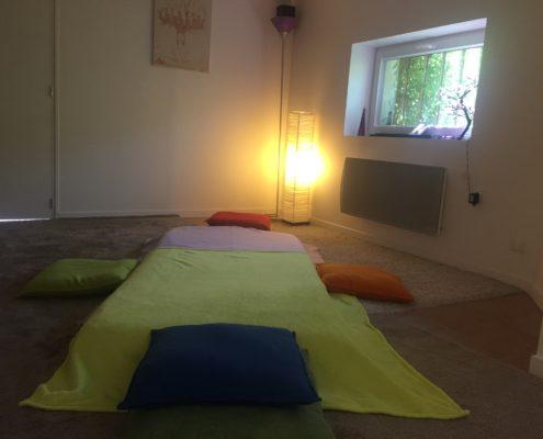 Espace de travail d'Eleonore Perrot, thérapeute à Grenoble, Saint Martin d'Hères